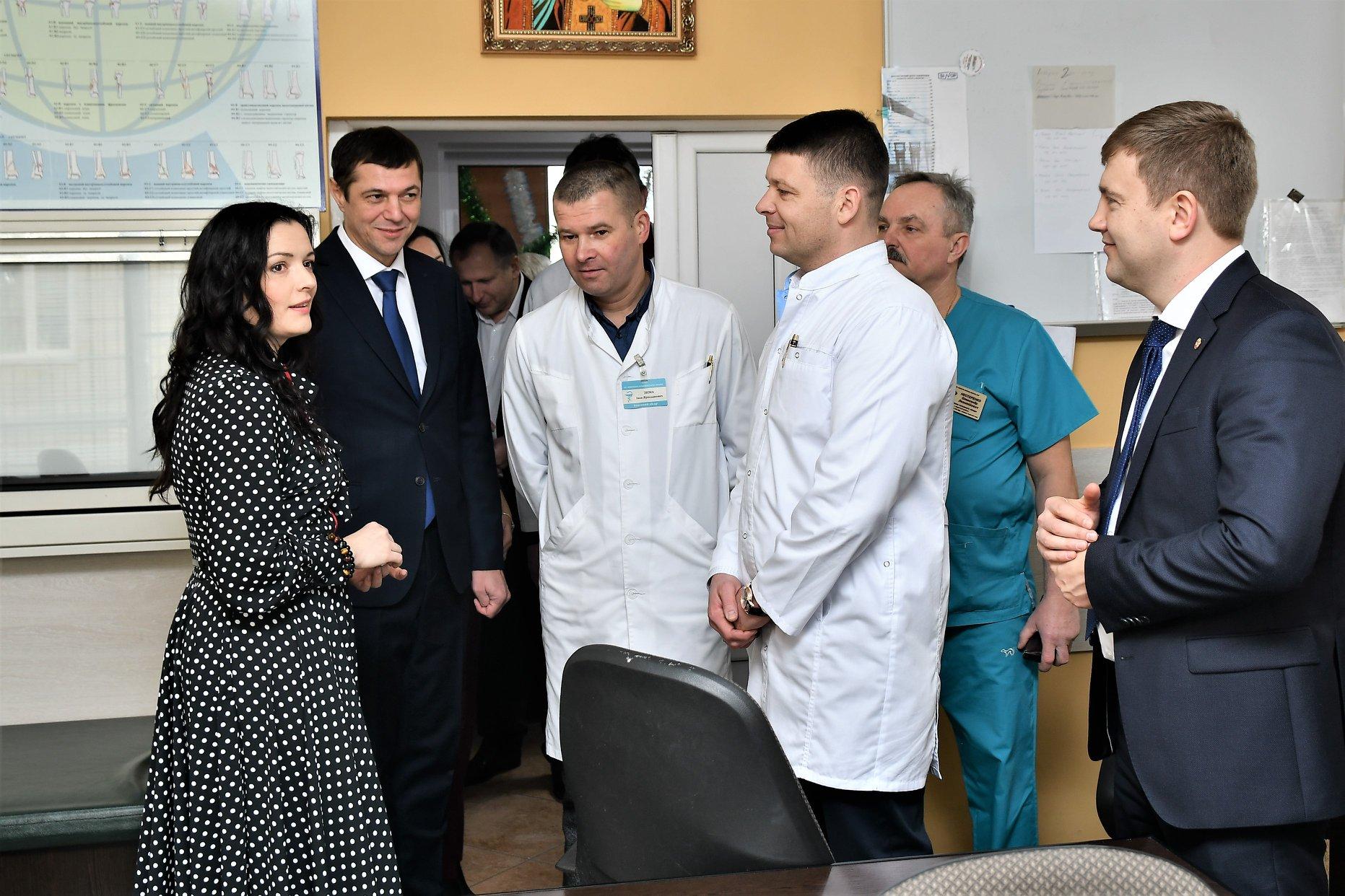 Міністр охорони здоров'я відвідала медичні заклади Рівненщини