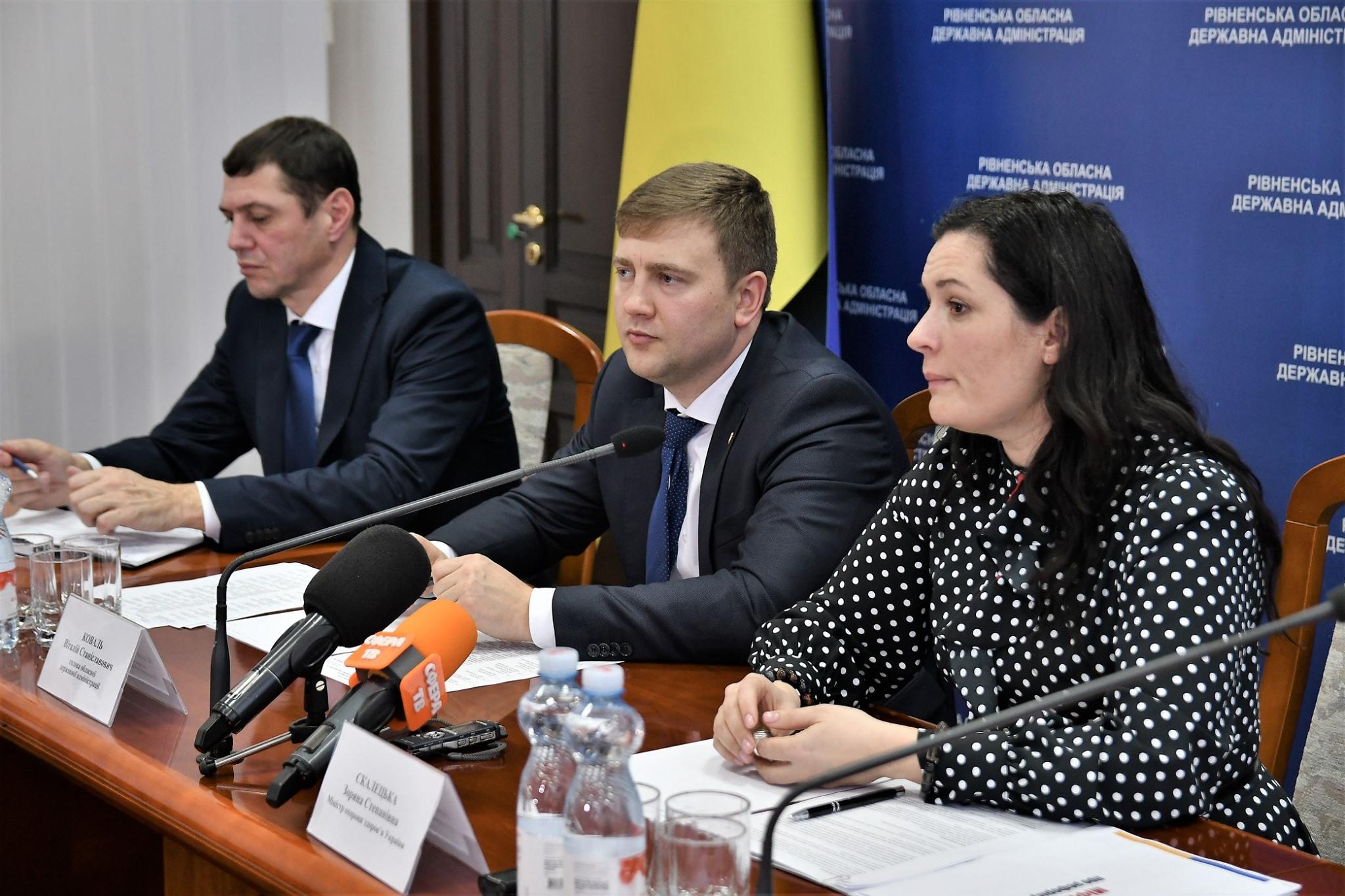 Рівненщина має високі показники готовності до другого етапу медреформи – міністр Зоряна Скалецька