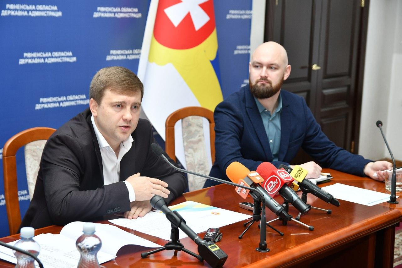 Віталій Коваль провів брифінг за підсумками 100 днів ( ФОТО, ВІДЕО )