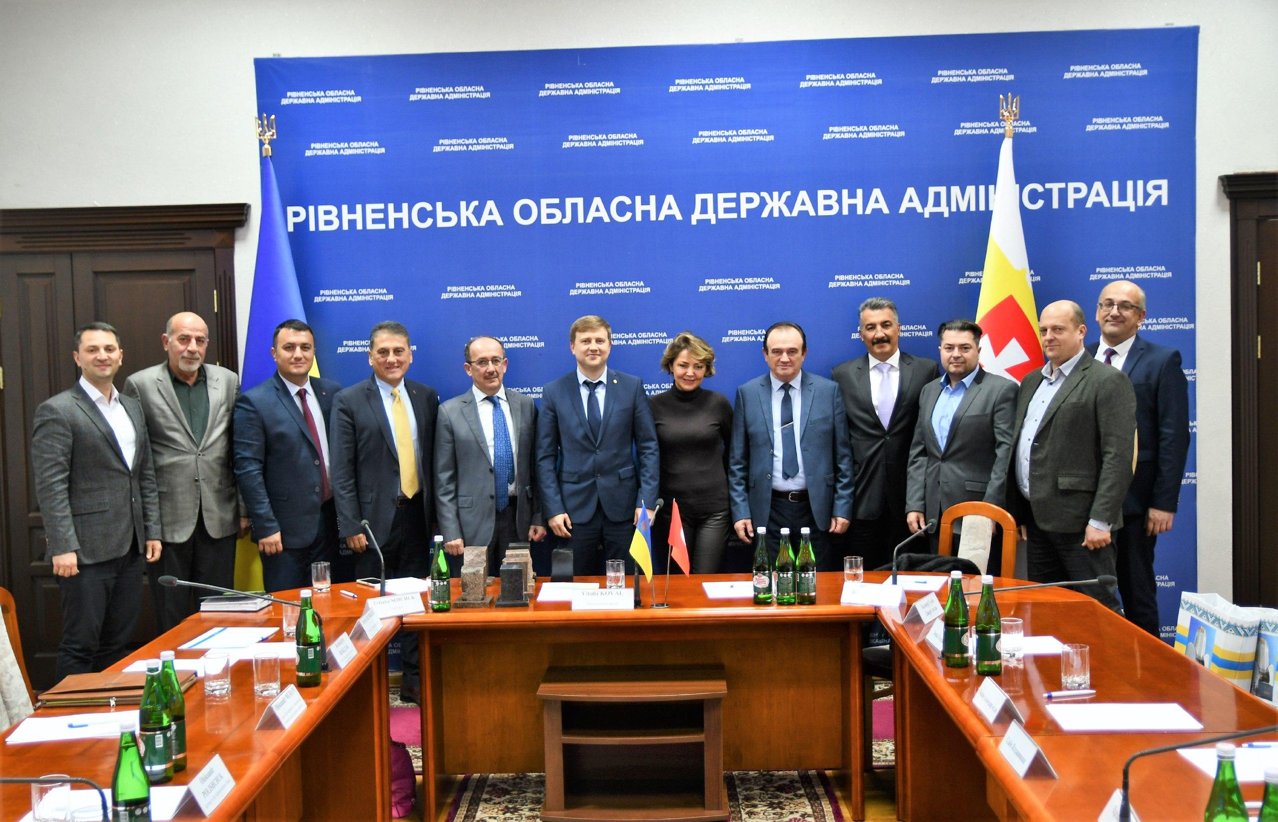 Віталій Коваль зустрівся з інвесторами із Туреччини
