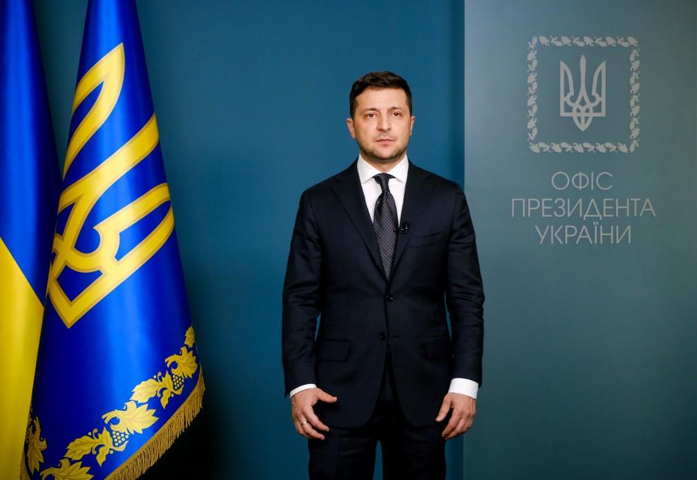 Звернення Президента Володимира Зеленського щодо заходів з протидії поширенню коронавірусу в Україні