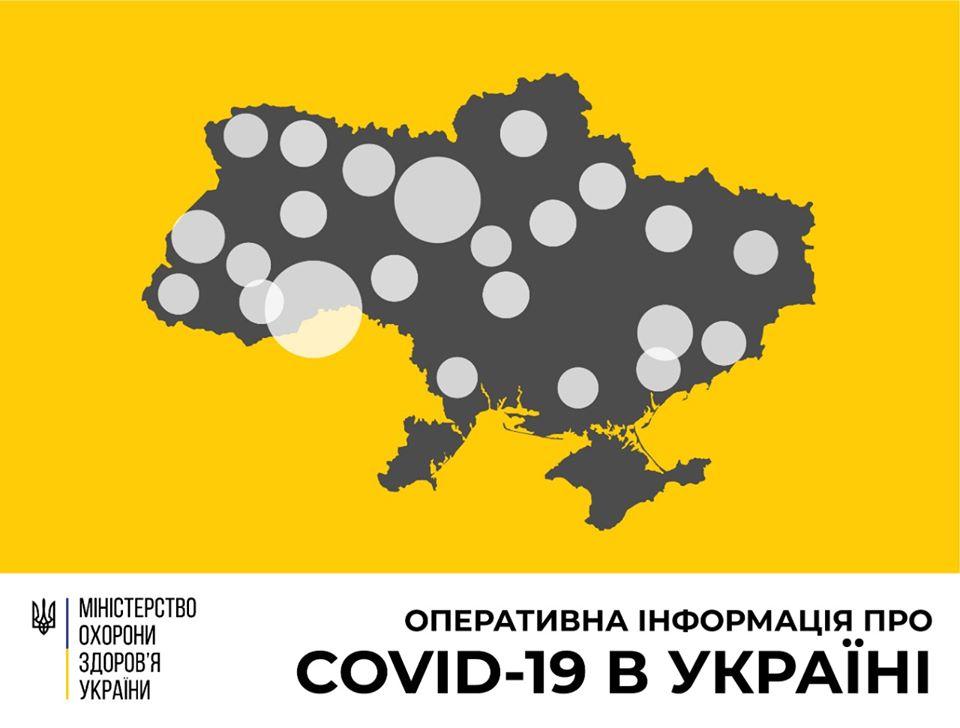 В Україні зафіксовано 480 випадків COVID-19