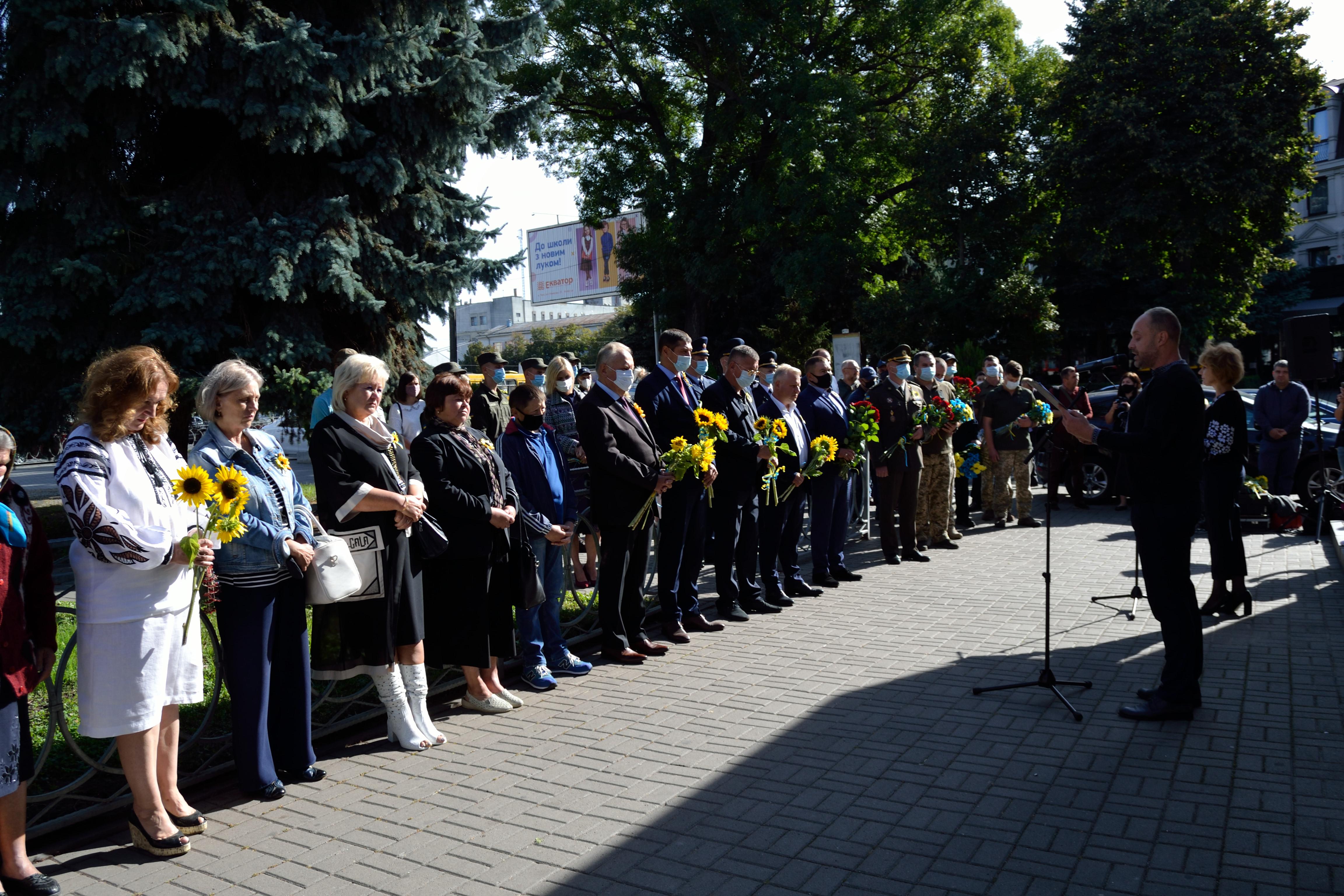 У річницю Іловайської трагедії на Рівненщині вшанували загиблих захисників (ФОТО), фото-10