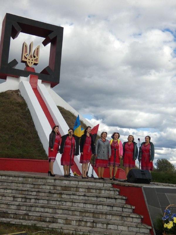 В урочищі Гутвин лунали пісні, присвячені героям УПА (ФОТО), фото-7